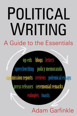 Political Writing A Guide to the Essentials  2012 edition cover