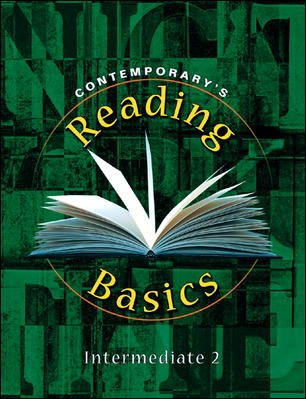 Contemporary's Reading Basics - Intermediate 2 Workbook   1998 edition cover