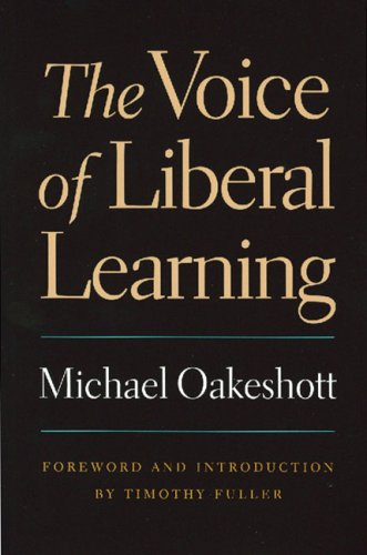 Voice of Liberal Learning   2001 edition cover