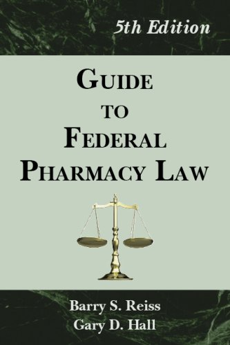Guide to Federal Pharmacy Law 5th 2006 edition cover