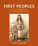First Peoples: A Documentary Survey of American Indian History  2015 edition cover