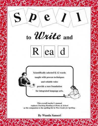 Spell to Write and Read   2002 edition cover