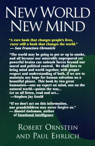 New World New Mind Moving Toward Conscious Evolution  2000 edition cover
