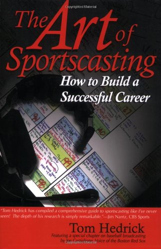 Art of Sportscasting How to Build a Successful Career N/A edition cover