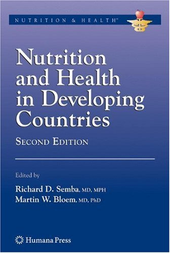 Nutrition and Health in Developing Countries  2nd 2008 edition cover