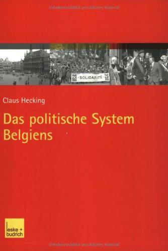 Das Politische System Belgiens:   2003 edition cover