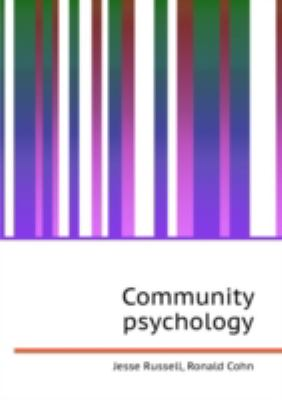 Community Psychology  0 edition cover