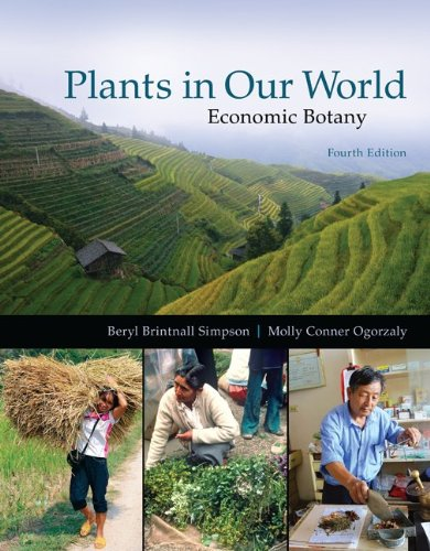 Plants in Our World: Economic Botany  2013 9780073524245 Front Cover