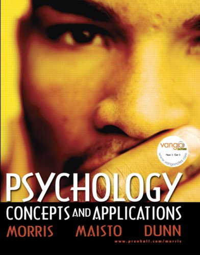 Psychology Concepts and Applications  2007 edition cover