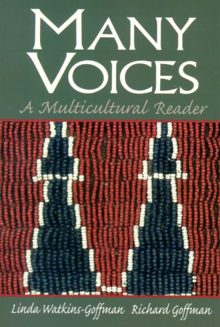 Many Voices A Multicultural Reader  2001 (Student Manual, Study Guide, etc.) edition cover