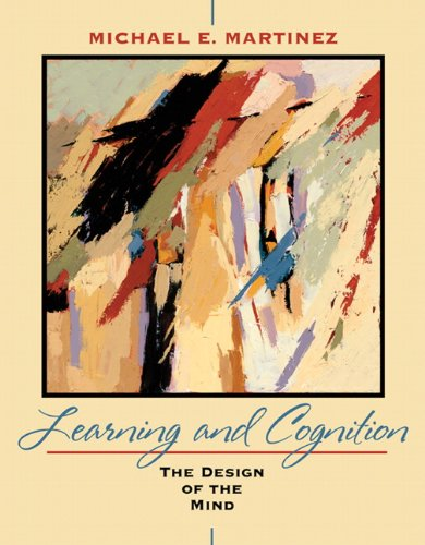 Learning and Cognition The Design of the Mind  2010 edition cover