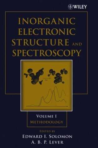 Inorganic Electronic Structure and Spectroscopy Methodology  2006 9780471971245 Front Cover
