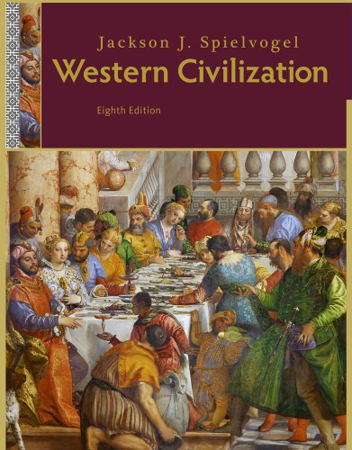 Western Civilization  8th 2012 edition cover