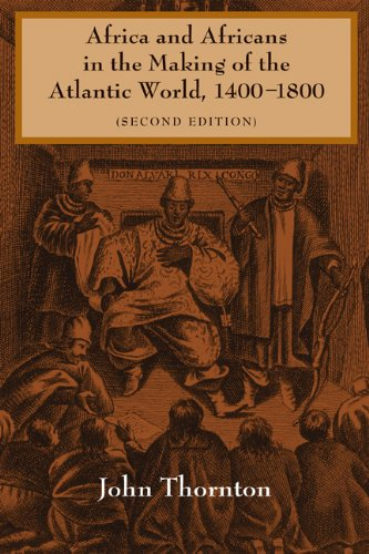 Africa and Africans in the Making of the Atlantic World, 1400-1800  2nd 1998 (Revised) edition cover