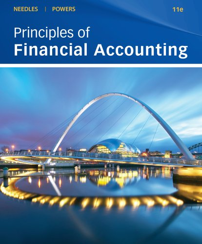 Principles of Financial Accounting  11th 2011 9780538755245 Front Cover