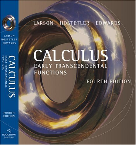 Calculus Early Transcendental Functions 4th 2007 edition cover