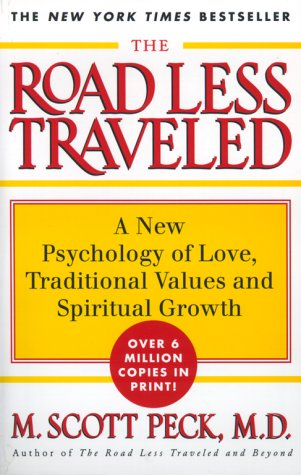 Road Less Traveled A New Psychology of Love, Traditional Values, and Spiritual Growth 2nd 1998 edition cover