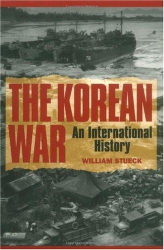 Korean War An International History  1995 edition cover