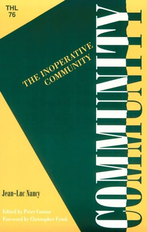 Inoperative Community  N/A edition cover