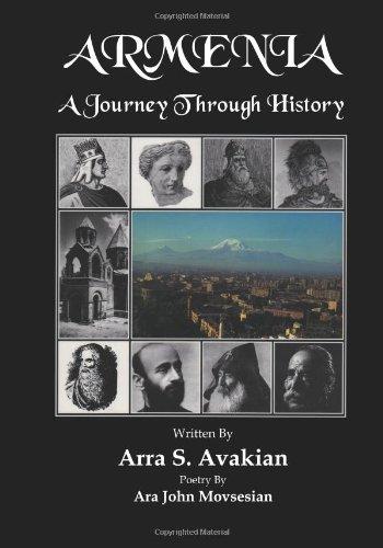 Armenia: a Journey Through History:  2008 edition cover