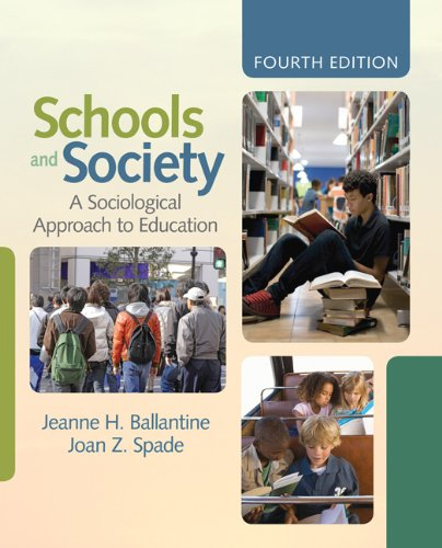 Schools and Society A Sociological Approach to Education 4th 2012 edition cover