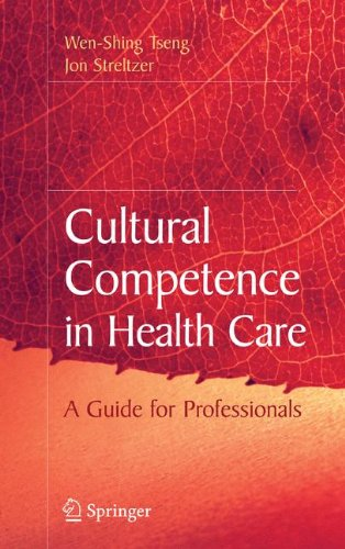 Cultural Competence in Health Care   2008 edition cover
