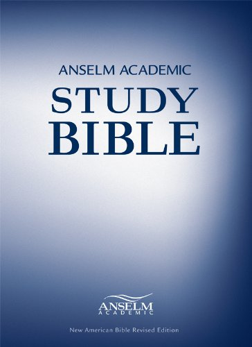 Anselm Academic Study Bible: New American Bible  2013 edition cover