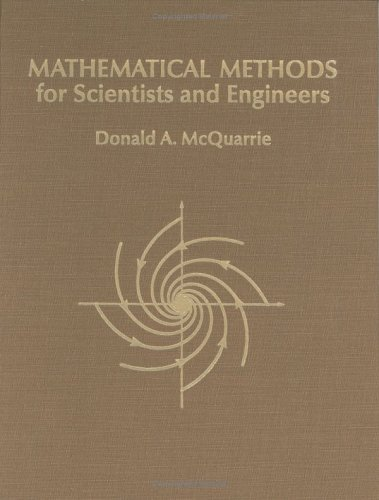 Mathematical Methods for Scientists and Engineers   2003 edition cover