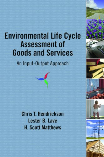 Environmental Life Cycle Assessment of Goods and Services An Input-Output Approach  2006 edition cover
