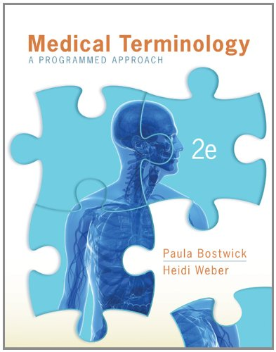 Medical Terminology A Programmed Approach 2nd 2013 edition cover