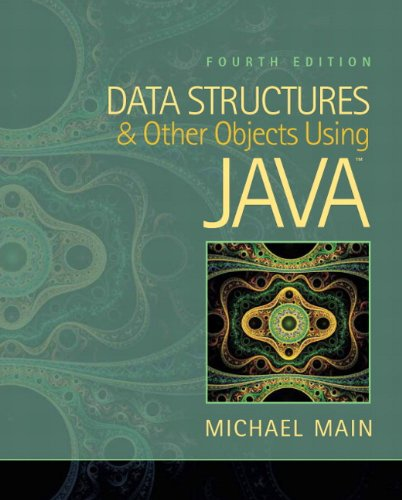 Data Structures and Other Objects Using Java  4th 2012 (Revised) edition cover