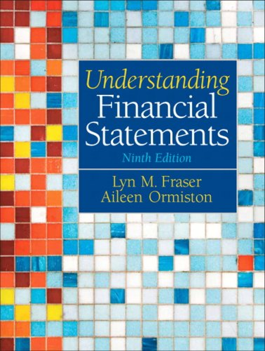 Understanding Financial Statements  9th 2010 edition cover