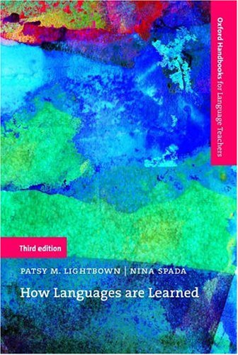 How Languages Are Learned  3rd 2006 (Revised) edition cover