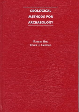 Geological Methods for Archaeology   1997 edition cover