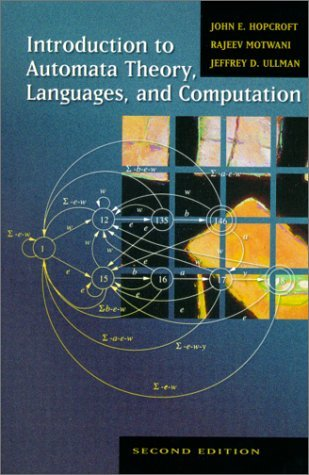 Introduction to Automata Theory, Languages, and Computation  2nd 2001 (Revised) edition cover