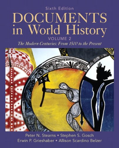 Documents in World History, Volume 2  6th 2012 (Revised) edition cover