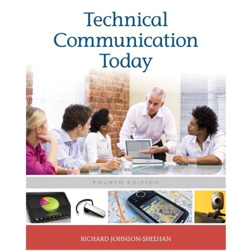 Technical Communication Today, Books a la Carte Plus MyTechCommLab  4th 2012 edition cover