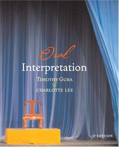 Oral Interpretation  11th 2005 edition cover
