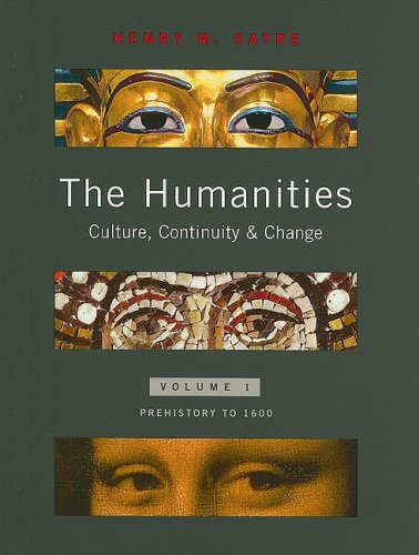 Humanities Culture, Continuity, and Change  2008 edition cover