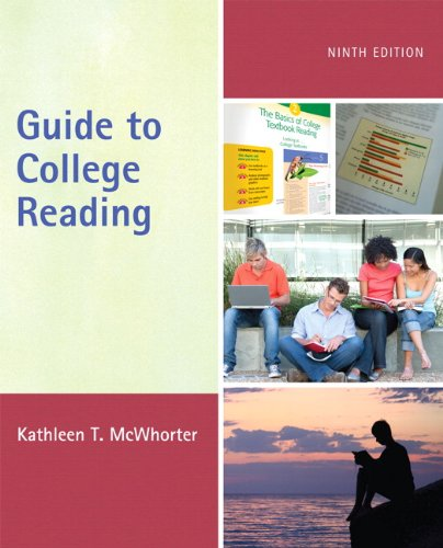 Guide to College Reading  9th 2012 (Revised) edition cover