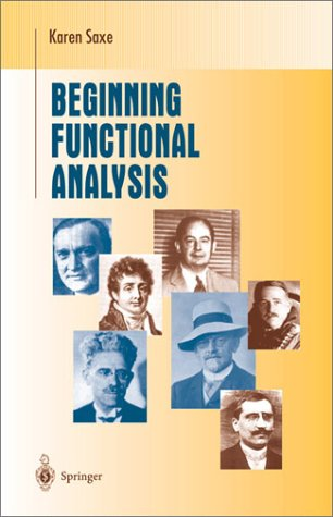 Beginning Functional Analysis   2002 edition cover