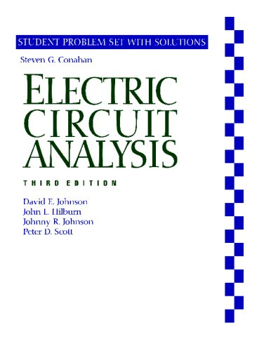 Electric Circuit Analysis  3rd 1996 (Revised) 9780471367246 Front Cover