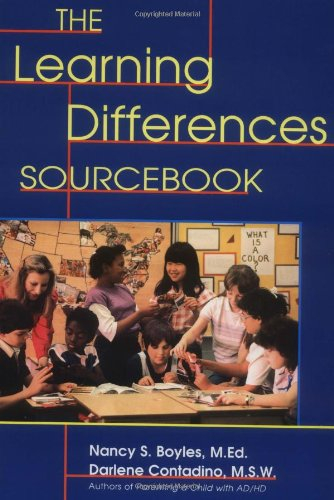 Learning Differences Sourcebook   1999 (Reprint) 9780737300246 Front Cover