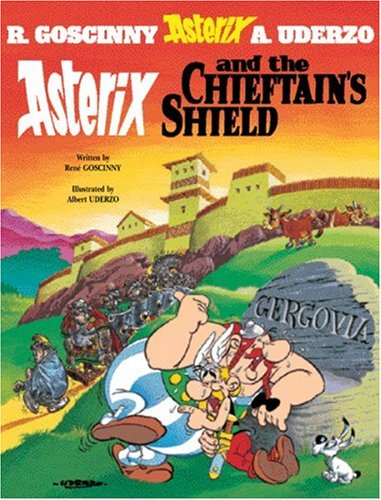 Asterix and the Chieftan's Shield   2004 edition cover
