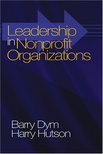 Leadership in Nonprofit Organizations Lessons from the Third Sector  2005 edition cover