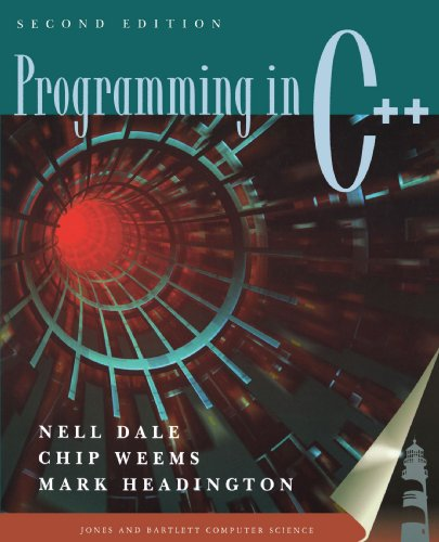 Programming in C++  2nd 2001 (Revised) edition cover