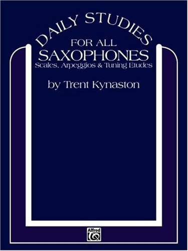 Daily Studies for All Saxophones   1984 edition cover