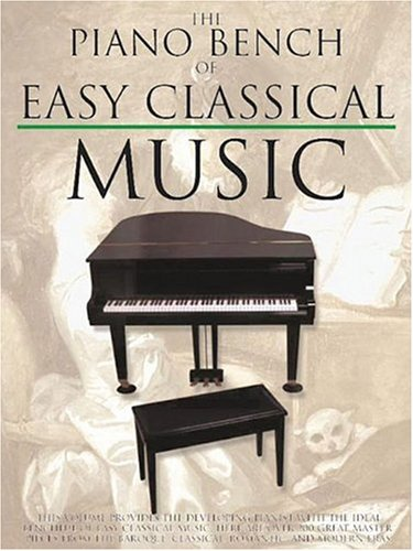 Piano Bench of Easy Classical Music   2001 edition cover