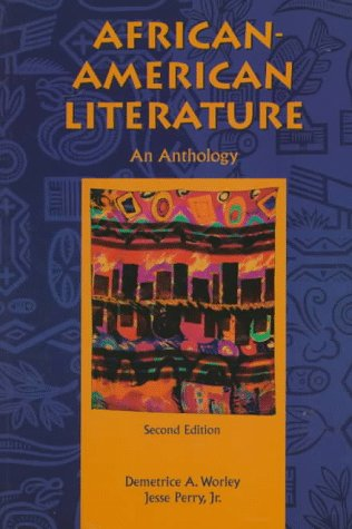 African American Literature An Anthology 2nd 1998 edition cover