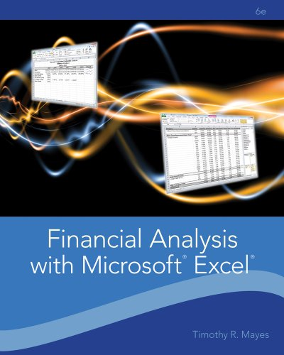 Financial Analysis with Microsoft Excel  6th 2012 edition cover